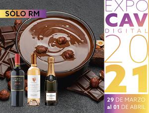 Cata magistral de chocolates Pacari con viña Errázuriz en Expo CAV
