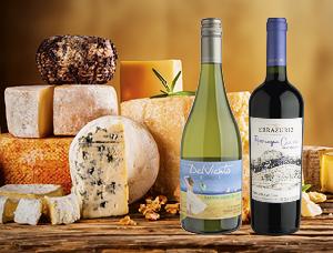 Cheese & Wine para dos