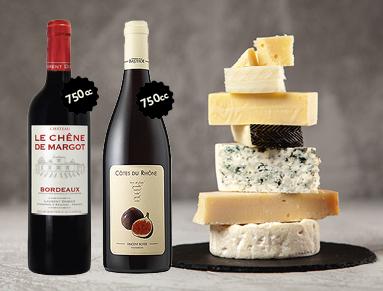 Cata de quesos y vinos franceses junto a Les Dix Vins