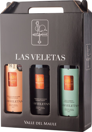 Las Veletas Pack 3 Botellas