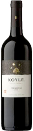 Koyle single vineyard carmenere 2016