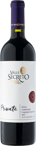 Valle Secreto Private Edition Carmenere 2017
