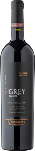 Ventisquero grey single block carmenere 2017