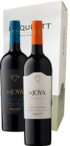 Bisquertt Pack Single Vineyard Cab.sauvignon + La Joya Carm. Gr.rva.